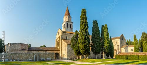Fotografia Panoramic view at the Basilica of Santa Maria Assunta in Aquileia - Italy