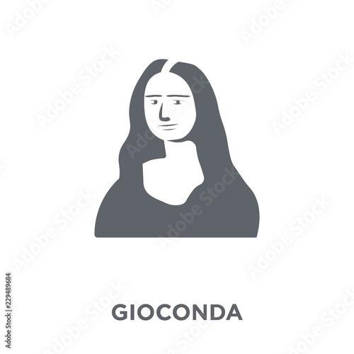 Fotografija Gioconda icon from Museum collection.