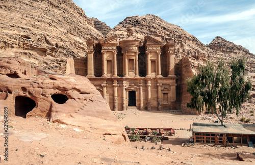 Stampa su Tela Monasterio en Petra
