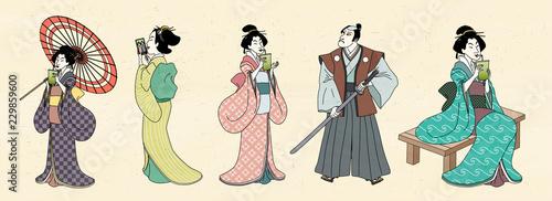 Fotografia Japanese characters design