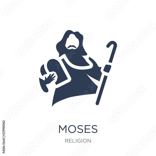Fotografia, Obraz Moses icon