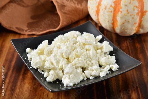 Crumbled feta cheese