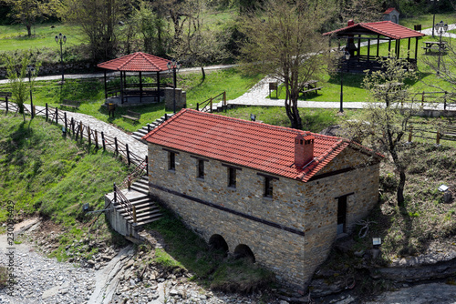 Traditional watermill near the village of Chrysavgi in Thessaly, Greece