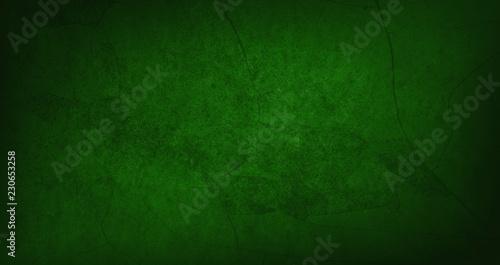 Blank dark green texture surface background