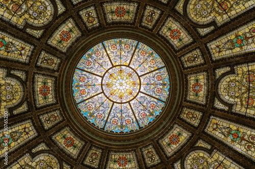 Obraz na płótnie Dome of Chicago Cultural Center