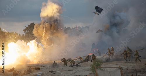 Fotografie, Obraz Military-historical festival in Crimea.