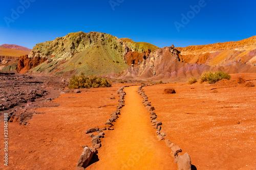 Valle del Arcoiris, San Pedro de Atacama, Chile, South America
