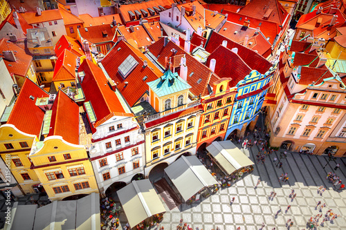 Canvas Print Old town square, Prague