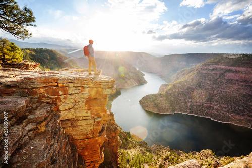 Obraz na płótnie Flaming gorge