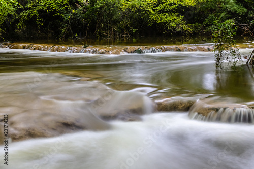 Photo Cascade of Sillans on the river Bresque