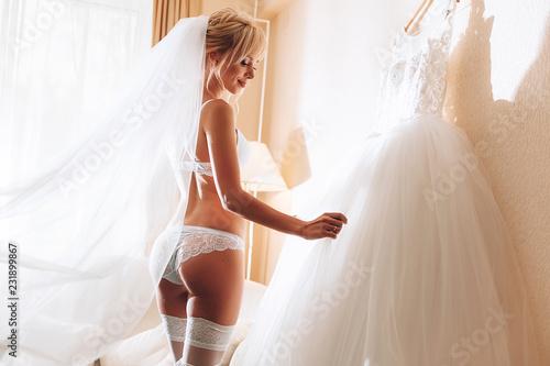 Fotografia morning of the bride