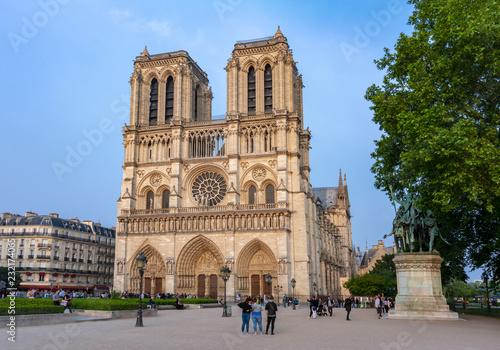 Obraz na plátně Notre Dame de Paris Cathedral, France