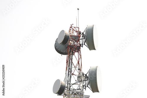 Fotografia Telecom tower,low angle view