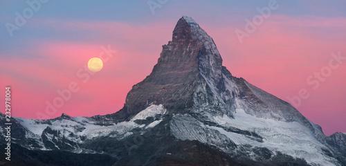 Wallpaper Mural Matterhorn slopes in autumn
