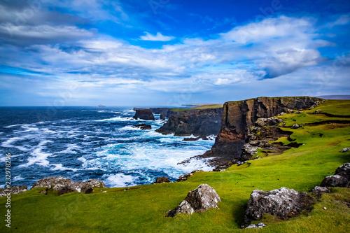 Fotografia Beautiful View at Shetlands