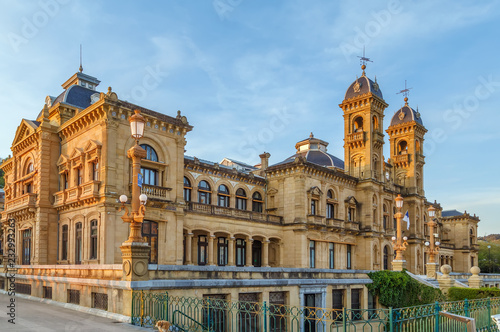San Sebastian Town hall, Spain Fototapeta