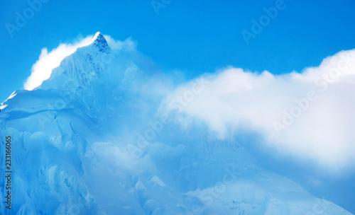 Photo Mountain peak Everest