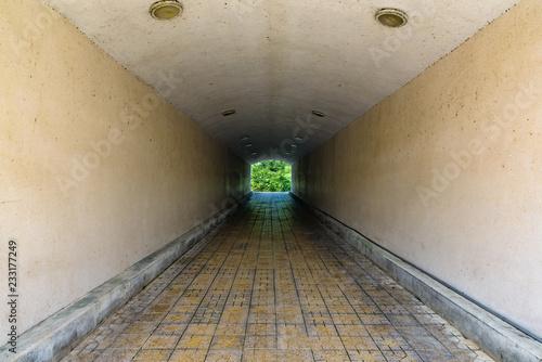 underground pedestrian tunnel