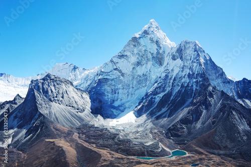 Fotografia Mountain peak Everest