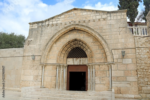 Church of the Sepulchre of Saint Mary, also Tomb of the Virgin Mary, a Christian Fototapeta