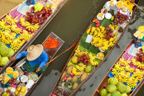 floating market thailand bangkok