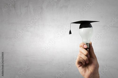 Billede på lærred Concept of business education