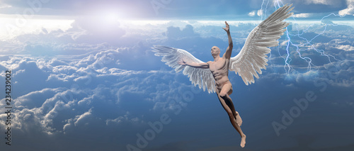 Photo Angel in the sky