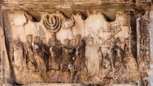 Fotografia Arch of Titus Detail