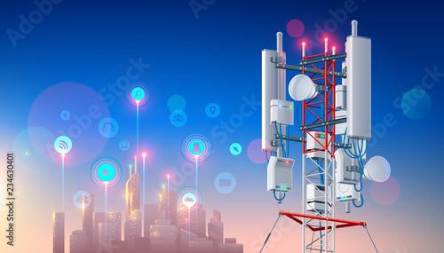 Stampa su Tela Antenna for wireless network