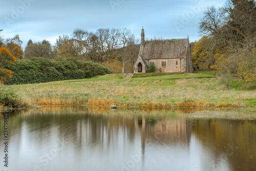 Maxwelton Church, Dumfriesshire, Southern Scotland in Autumn Fototapete