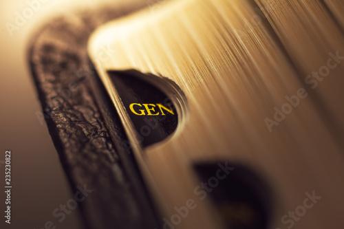 Fotografiet The book of Genesis