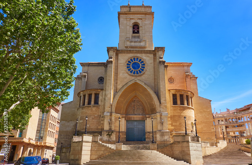 Albacete church in Castile La Mancha