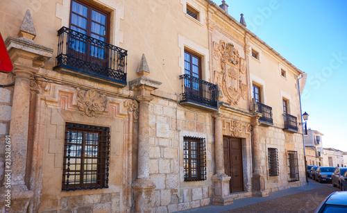 La Roda facade in Albacete La mancha Spain