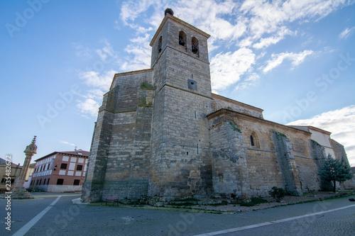 Church of Santa Maria in Boadilla del Camino in Palencia