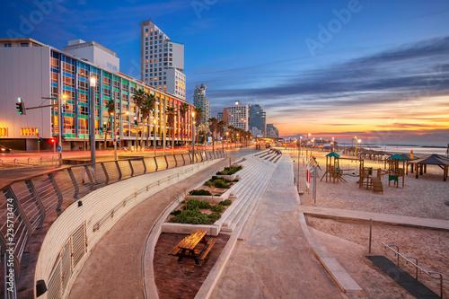 Fotografia Tel Aviv Promenade