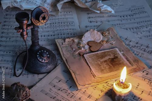 nuty, muzyka