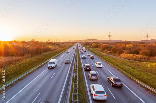 Fotografie, Tablou Polish highway