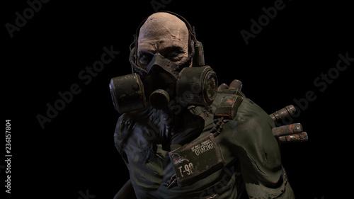 Photo Nuclear post-apocalypse mutant