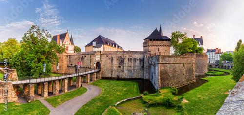 Cuadros en Lienzo Castle of the Dukes of Brittany (Chateau des Ducs de Bretagne) in Nantes, France