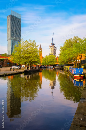 Photo Castlefield - an inner city conservation area in Manchester, UK