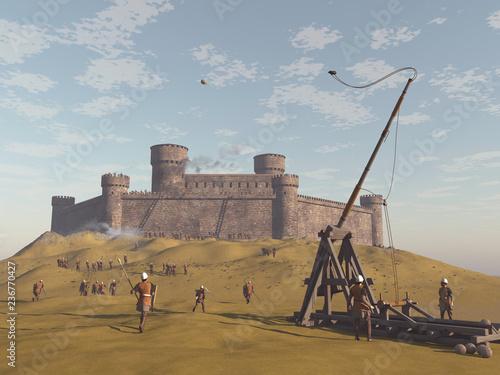 Photo Castillo medieval asediado