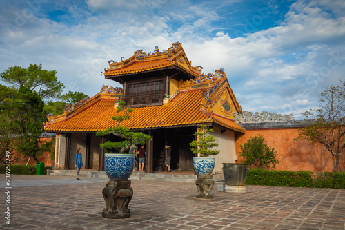 Fotomural Imperial Royal Palace of Nguyen dynasty in Hue, Vietnam