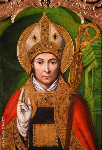 Fotografia, Obraz Altarpiece of St Nicolas in Monaco Cathedral