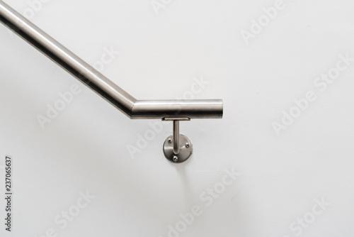 Photo minimalistic partial handrail