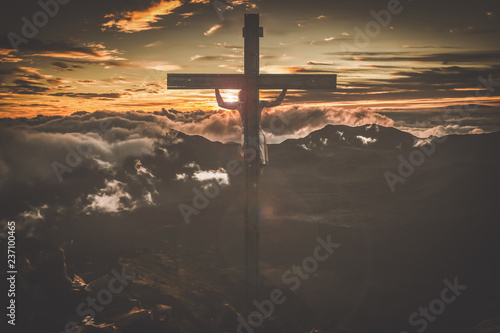 The Crucifixion of Jesus Christ Fototapete