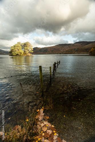 Photo Derwent Water Fence and Island