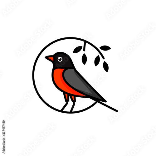 Canvas Print Creative Bird Logo Designs