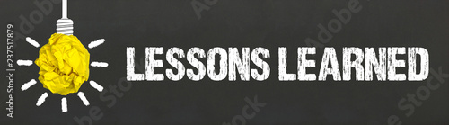 Stampa su Tela Lessons Learned