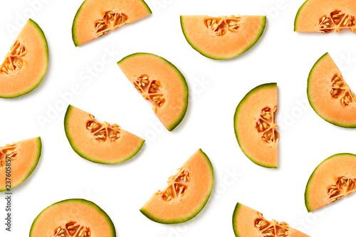 Wallpaper Mural Fruit pattern of melon slices