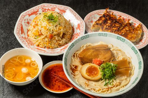 とんこつラーメン  tonkotsu pork ramen Japanese food
